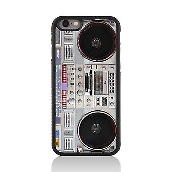 Call Candy Apple iPhone 7 Vintage Retro Old Skool Boom Box 2D Printed Case