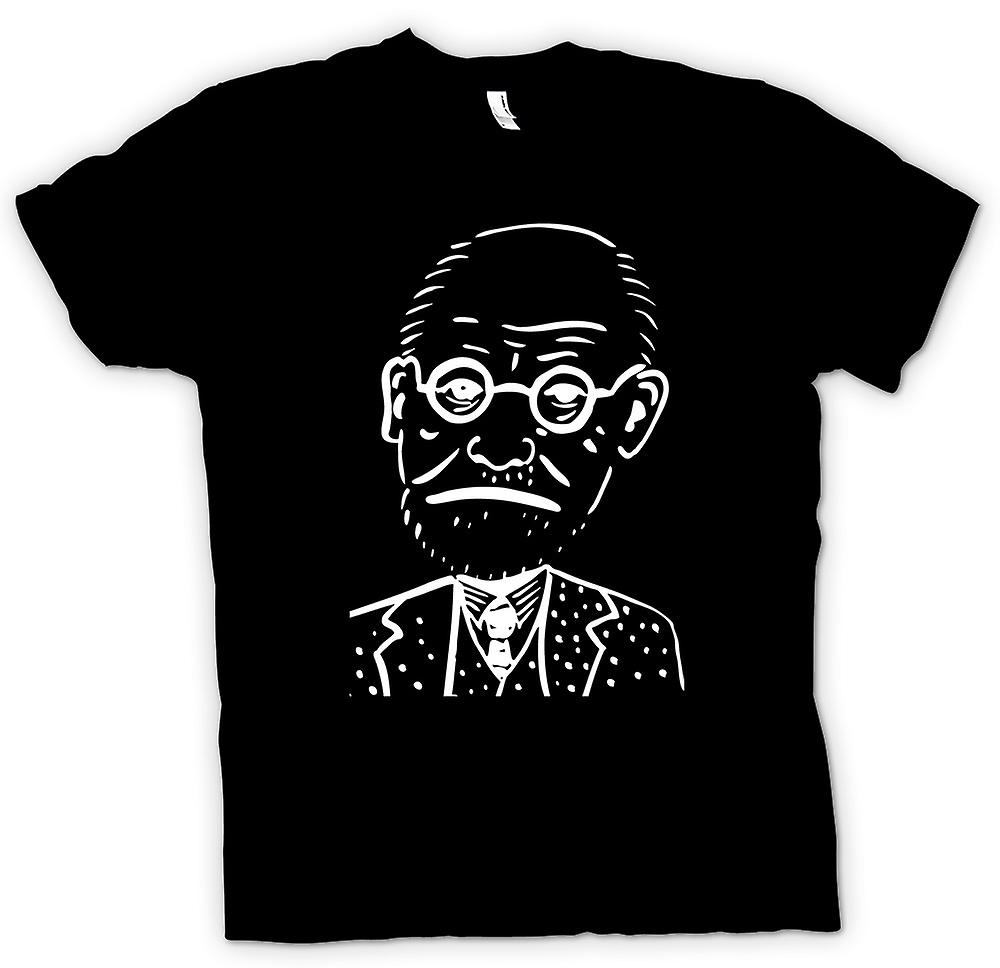Kids T-shirt - Sigmund Freud - Psychology - Caricature