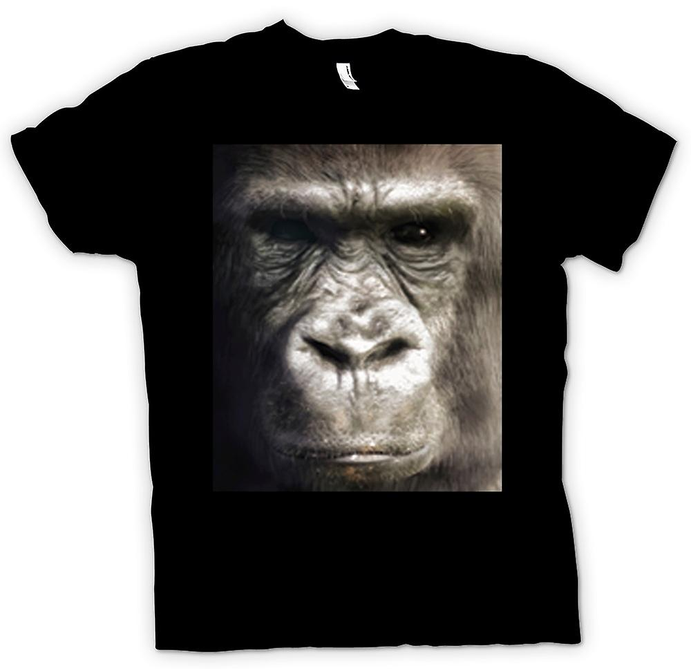 Mens T-shirt - Gorilla Face Portrait
