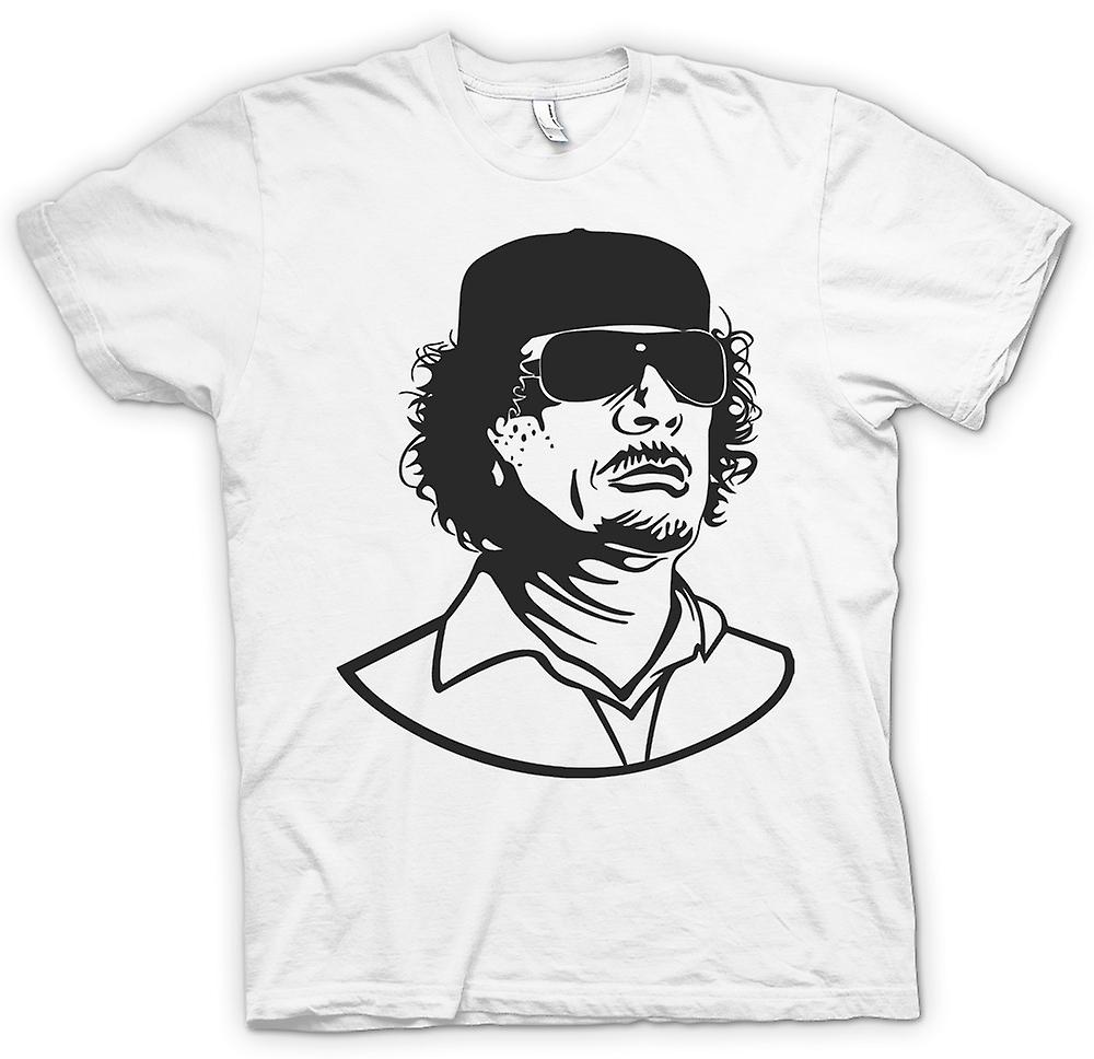 Womens T-shirt - Gaddafi - libyschen Diktators Portrait