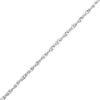 44cm Singapur Kette - 925 Sterling Silber einzelne Ketten - W36057x