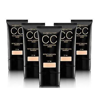 2 x Max Factor CC Colour Correcting Cream SPF10 30ml Sealed - Various Shades