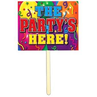 Hage tegn partiet er her