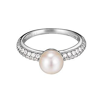 ESPRIT women's ring srebrny cyrkonia perła kula ESRG92379B1