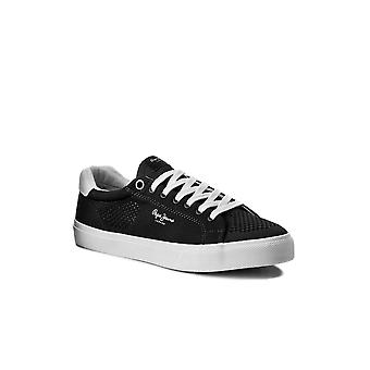 Canvas sneakers openwork Nate Sumer - Pepe Jeans