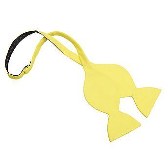 Påskelilje gule Hopsack Lin sommerfugl Self Tie sløyfe