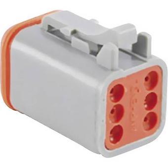 Amphenol AT06 6S Bullet kontakten uttaget, rak serie (kontakter): på totala antalet pins: 6 1 dator