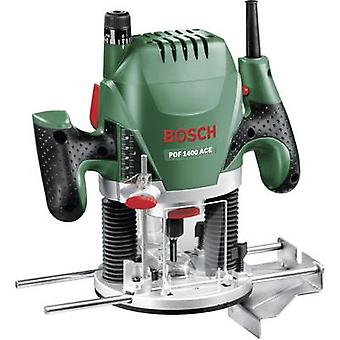 Bosch Home and Garden POF 1400 ACE Router incl. case 1400 W