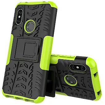 Para Xiaomi MI A2 sola pieza MI 6 X híbrido caso 2 caso SWL bolso verde al aire libre cubierta de protección