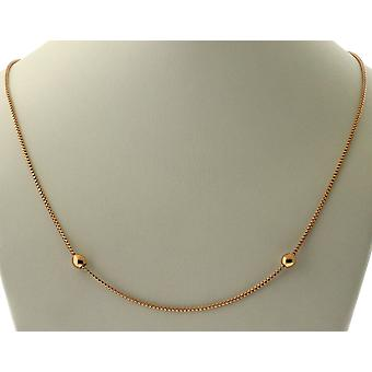 Alex And Ani 24 in. Expandable Chain Starter Necklace - 14KT Rose Gold Plated - CS18N24R