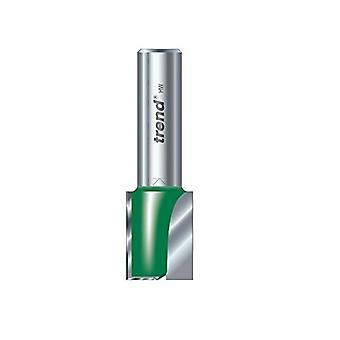 Tendencia TREC024A14TC 5 x 25.4mm C024 x 1/4 TCT dos flauta cortador