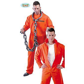 Prisoner costume jumpsuit prisoner Carnival sentenced prison suit orange