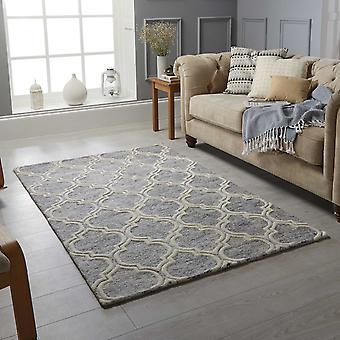 Medina alfombras en gris