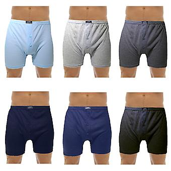 Tom Franks Mens Cotton Boxer Short Trunk (Pack of 12)