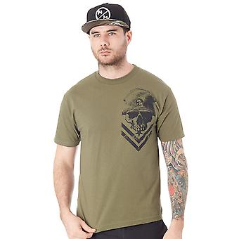 Metal Mulisha Military Green Trooper T-Shirt