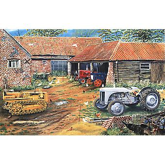 Farmers Classic Collection by Roy Didwell 1000 piece jigsaw puzzle 690mm x 480mm (jg)