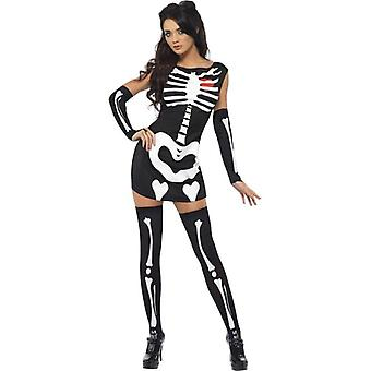 Smiffy's Fever Sexy Skeleton Costume