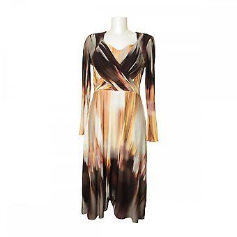 Michaela Louisa Tie-dye Effect Dress With Crossover