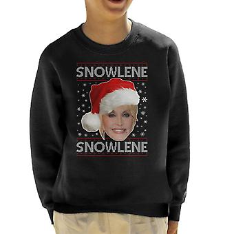 Dolly Parton Snowlene Kid's Sweatshirt
