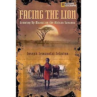 Mit Blick auf die Löwen - Massai in der afrikanischen Savanne von Joseph L aufwachsen