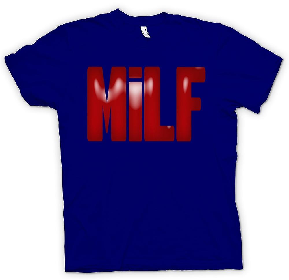 Hombres camiseta-MILF - gracioso - Yummy Mummy