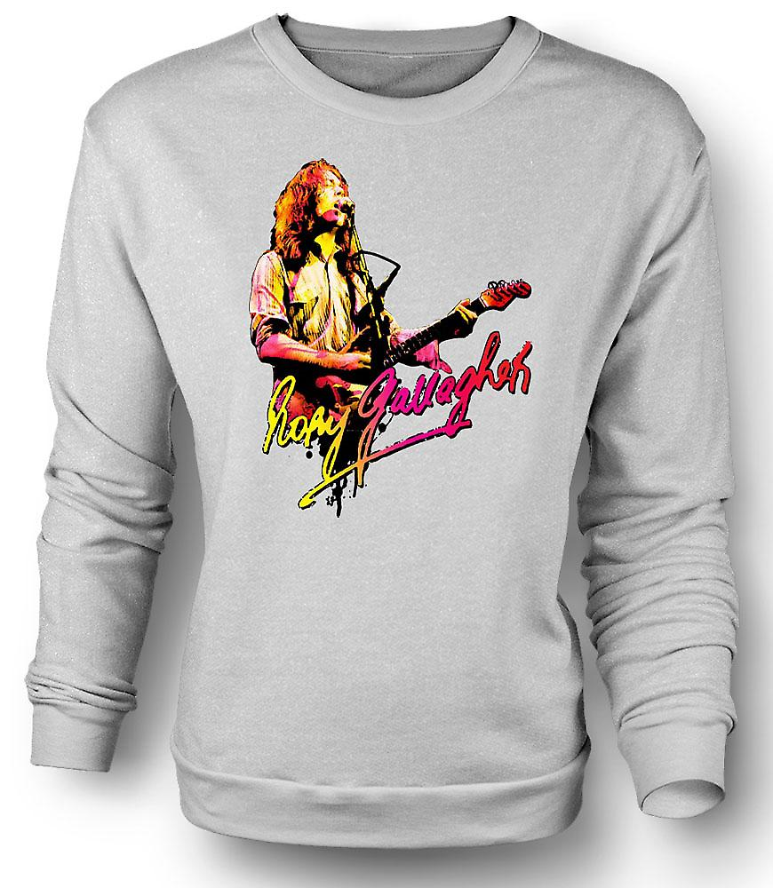 Mens Sweatshirt Rory Gallagher - Dieu de Blues - Rock Musique