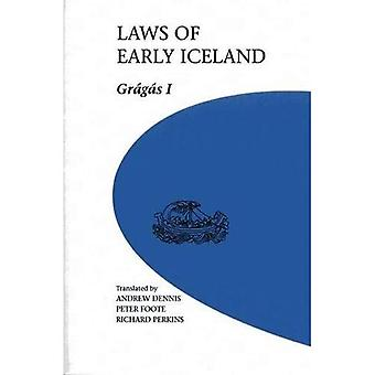 Laws of Early Iceland, Vol. 1: Gragas I (U of M Icelandic)
