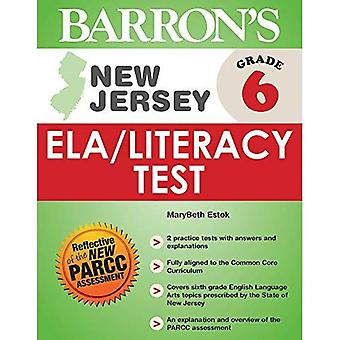 Barron's New Jersey Grade 6 Ela/Literacy Test