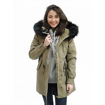Converse Shield Hooded Women's Parka Jacker