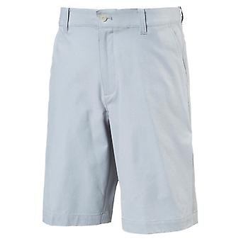 PUMA Heather Pounce Jr Kinder Woven Shorts Grau