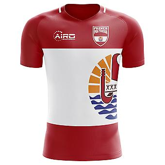 2018-2019 French Polynesia Home Concept Football Shirt