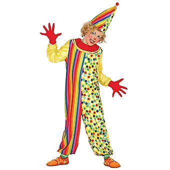 Jongens Clown Circus Fancy Dress kostuum