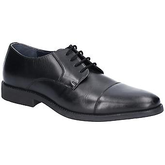Hush Puppies Mens Champ Toe Cap Lace Up Formal Oxford Shoes