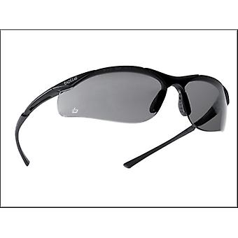 Bollé Safety Contour Safety Glasses - Smoke