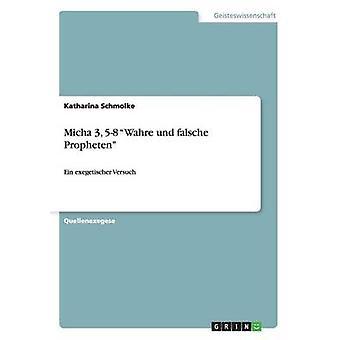 Micha 3 58  Wahre und falsche Propheten by Schmolke & Katharina