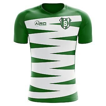 2019-2020 Sporting Lisbon Home Concept Football Shirt - Womens