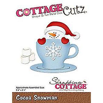 CottageCutz Cocoa Snowman (CC-491)