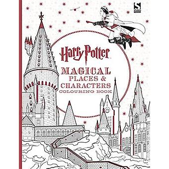 Harry Potter Magical Places and Characters Colouring Book - 978178370