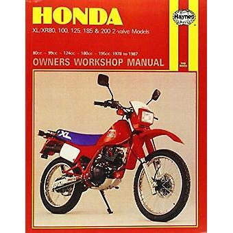 Honda XL/XR80 - 100 - 125 - 185 and 200 2 Valve Models - 1978-87 Owne