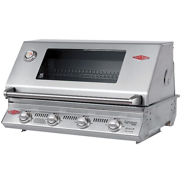 BeefEater Signature S3000S 4 Burner Built In Gas BBQ - Stainless Steel