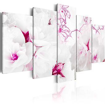 Canvas Print - Pink gossamer