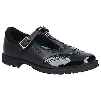 Hush valpar flickor Maisie läder Mary Jane skolan skor