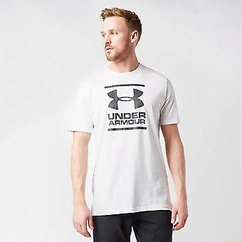 New Under Armour Men's Foundation Short Sleeve T-Shirt White