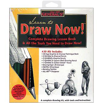 Learn To Draw Now Kit 30Gp