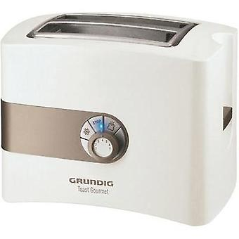 Toaster with home baking attachment Grundig TA4260 White, Gold