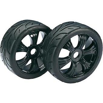 Absima 1:8 Buggy Wheels Street 6-spoke Black 2 pc(s)