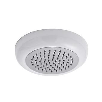 Hudson Reed Flush Ceiling Mounted Shower Head – White