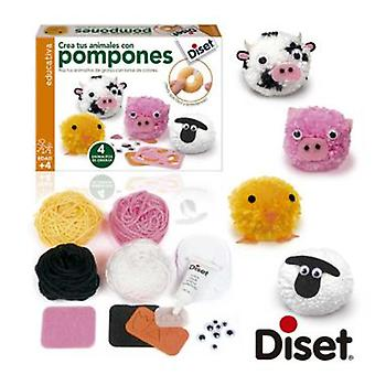 Diset Create Animals with pompons