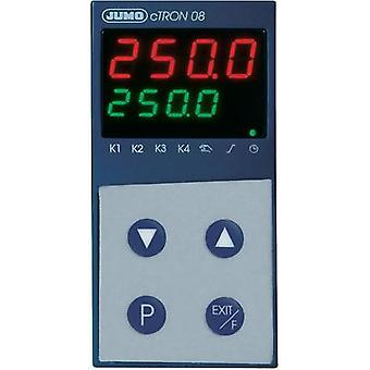 PID Temperature controller Jumo cTRON08 L, J, U, T, K, E, N, S, R, B, C, D, Pt100, Pt1000, KTY11-6 3 A relay, Transisto
