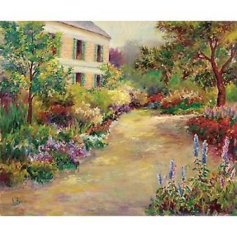Monets Haus Poster Print von Carol Bailey